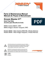 Manual GROOM MASTER II - PEÇAS