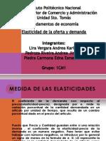 economia_presentacion elasticidades