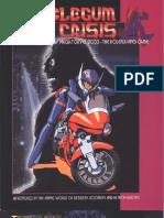 Bubblegum Crisis - MegaTokyo 2033 RPG