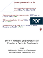 effect of increasing chip density