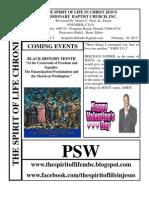 February's Newsletter