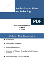 Industrial Applications of Pulsed Power Technology