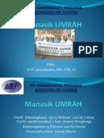 Manasik Umroh bersama PT. Arminareka Perdana