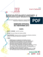 Convocatoria Seminario Integral 2013