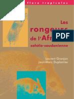 Rongeurs de l'Afrique(Livre)