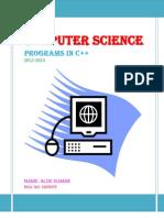 c++ programs for class 12