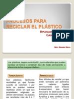 Clase N° 8 RECICLADO DE POLIMEROS