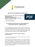 Inocencio Melendez Julio El Sistema de Recaudo de Transmilenio- Situacion Actual y Perspectivas