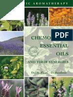 Aromatherapy chemotyped oils