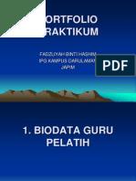Portfolio Praktikum