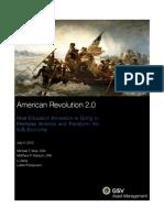 American Revolution 2.0