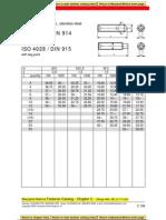 Allen Grubscrew ISO 4027