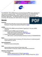 Lentiviral Transduction Protocol