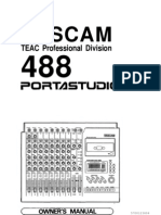 Tascam 464 Portastudio Owner's Manual