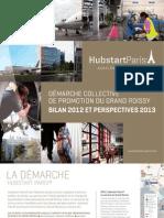 Hubstart Paris-Promotion Grand Roissy-Rapport Dactivites 2012
