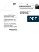 Mazda RX8 transmission manual