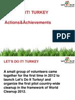 Turkey Presentation in Clean World Conference 2013