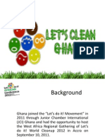 Ghana Presentation in Clean World Conference 2013