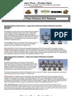PP February 2013 Releases