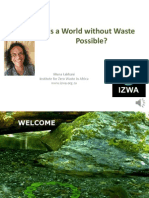Muna Lakhani - Is a World without Waste Possible?Clean World Conference 2013