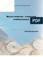 Curs Relatii Monetar Fiinanciare Internationale