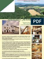 Gasthof Sennerhütte, Sächsische Schweiz