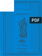 Museo Arqueológico (Cádiz ) Cuaderno del alumno