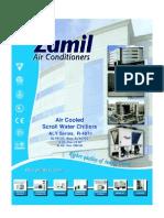 Scroll Compressor ALY (R-407c) series