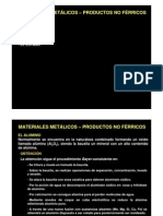 3 Materiales Metalicos Productos No Ferricos