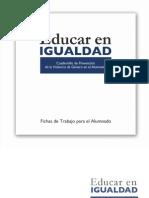 Cuadernillo Violencia género - alumnado