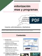 Monitorización de sistemas y programas
