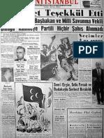 Unutulan Manşetler_1960-1961