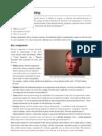 strategic planning wiki