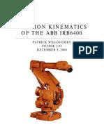 Abb robot project  IRB 640