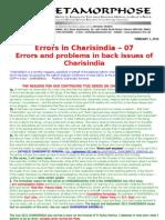 CHARISINDIA ERRORS 07