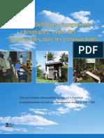 Relever les défis des changements climatiques, créer des opportunités pour les communautés