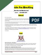 westside pro wrestling - issue 2 - october 2009