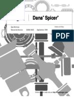 Analisis de Fallas - Diferencial - Dana Spicer