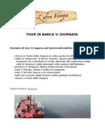 Tour in barca ½ giornata nella laguna di Venezia