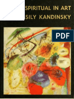 Lo Espiritual en El Arte - Kandinsky