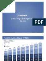 Facebook User Numbers