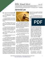 357 - Fundamentals of Law