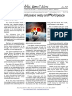 361 - Signing of the World Peace Treaty and World Peace Conference