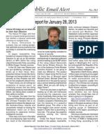 363 - Benjamin Fulford Report for January 28, 2013