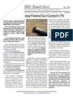 364 - HB 0042 Filed to Stop Federal Gun Control in TN