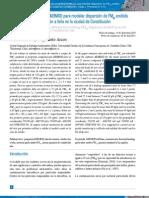Aplicación del programa AERMOD para modelar dispersión de PM10