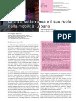 2008-Mazzeo-TeMA-01-03-Città Sotterranea e Mobilità