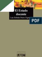 Luis Beltran Prieto El Estado Docente