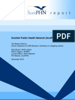 2012 12 18 Final Report UK Welfare Reform - Interim Guidance for NHS Boards in Scotland1[1]
