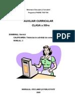 58443001 Reclama Si Publicitate Auxiliar Curricular